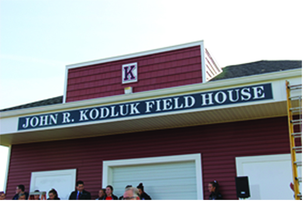 Kingsway names new field house after beloved teacher, coach