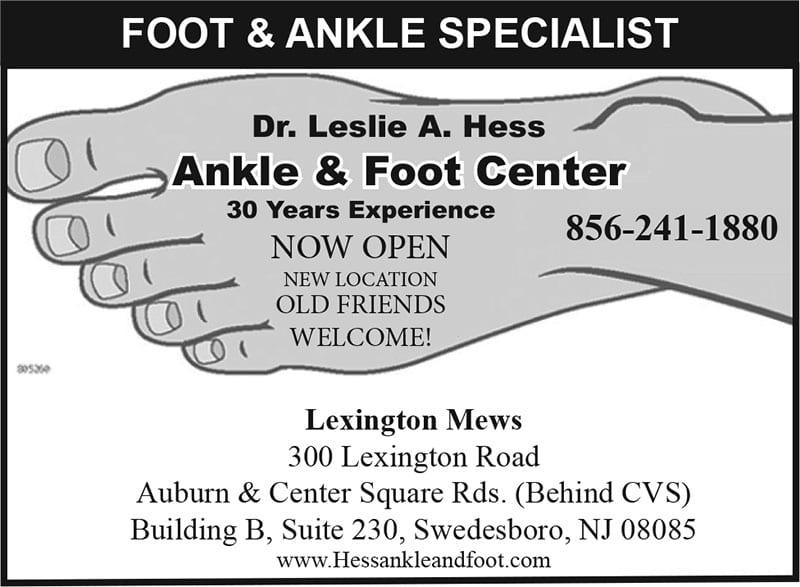 Dr. Leslie Hess Foot & Ankle Center