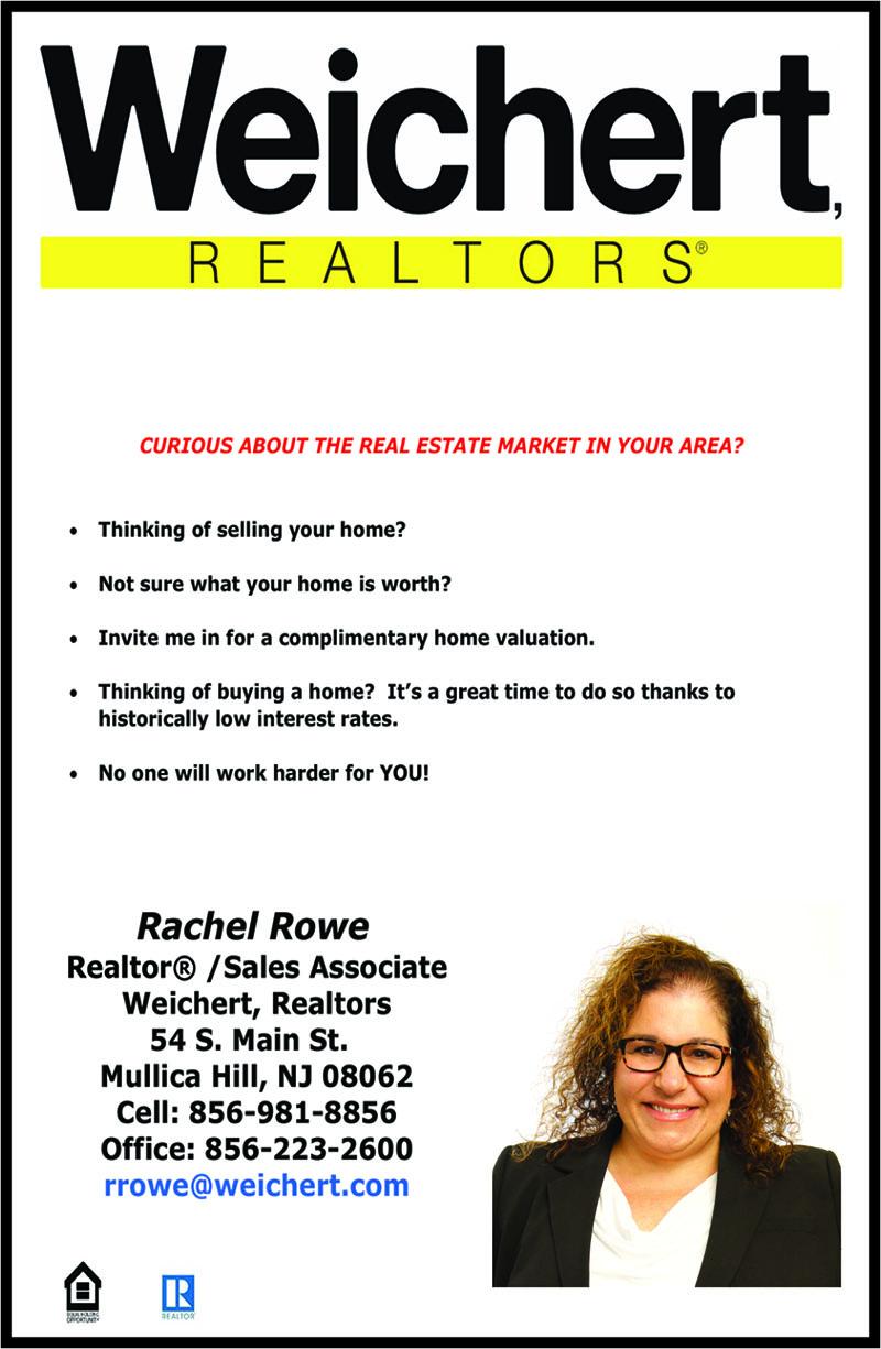 Rachel Rowe Weichert Realtors