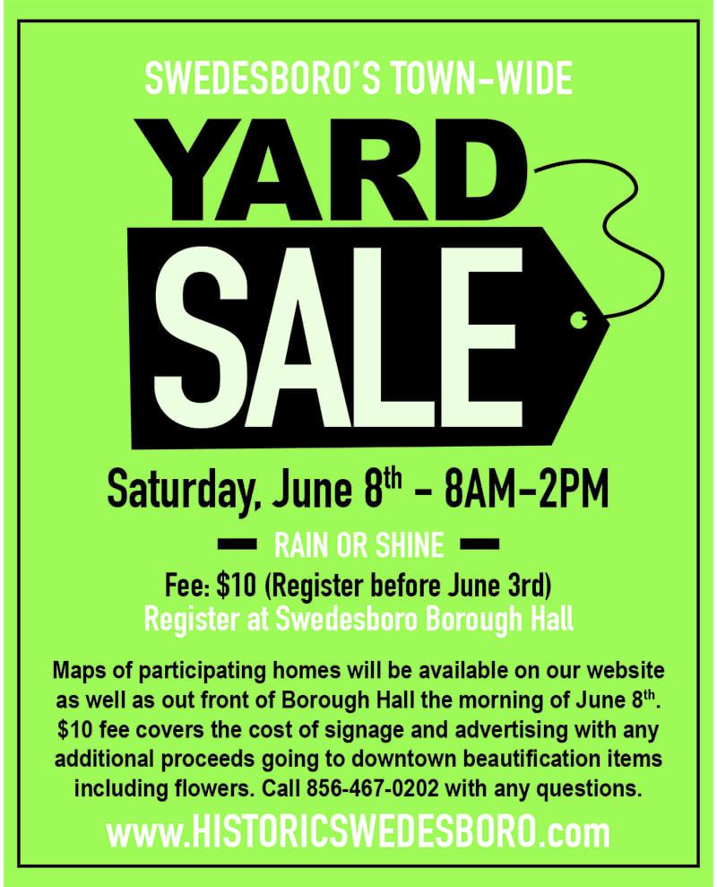 Boro Yard Sale