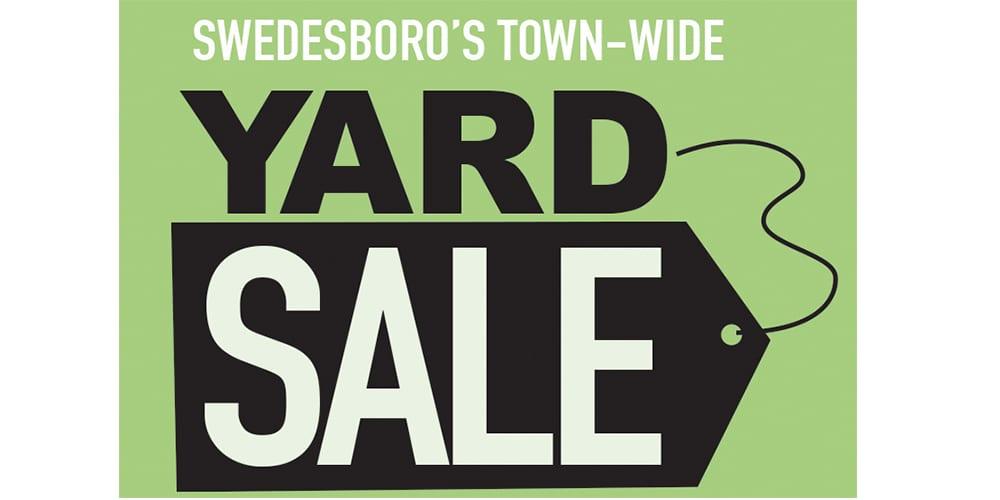 Swedesboro Town Wide Yard Sale, June 8