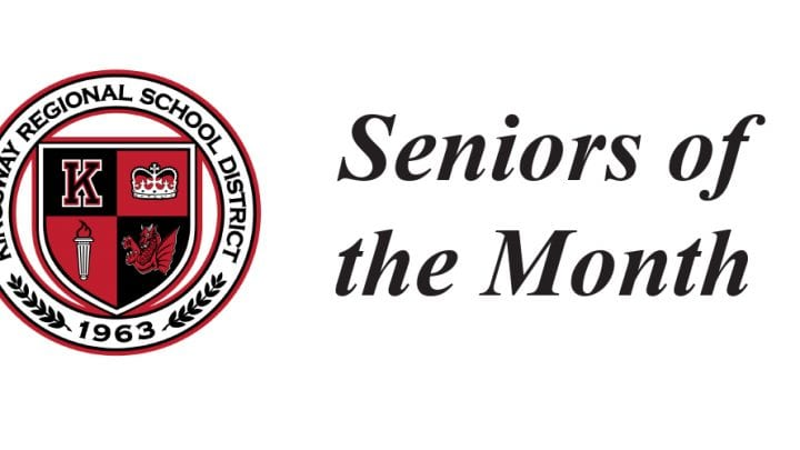 SENIORS OF THE MONTH FOR JUNE