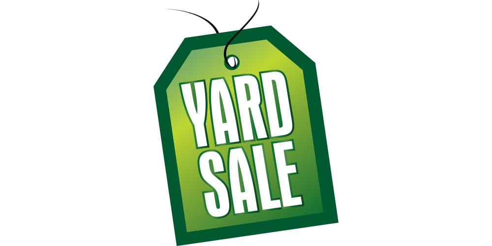 Little Red Schoolhouse Spring Yard Sale