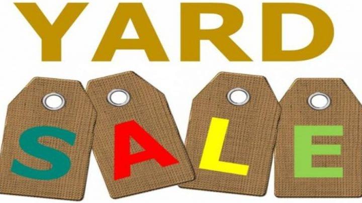 YARD SALE/HOAGIE SALE, MAY 11