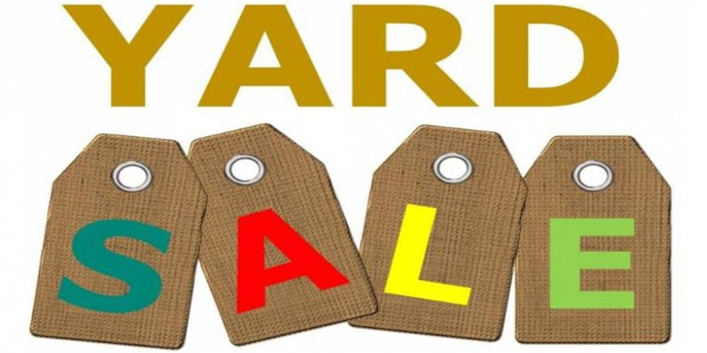 YARD SALE/HOAGIE SALE, MAY 11