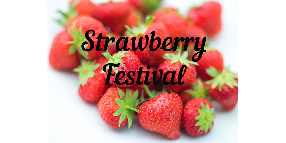 Annual Strawberry Festival at Old Stone Church June 2