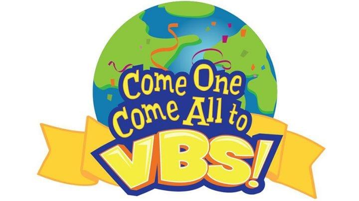 VACATION BIBLE SCHOOL, JULY 8-12