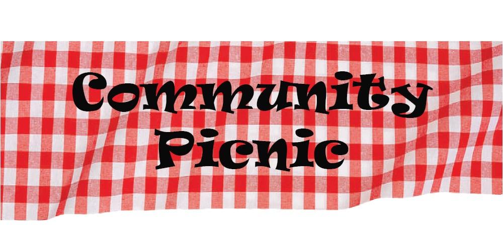 COMMUNITY PICNIC, AUGUST 3