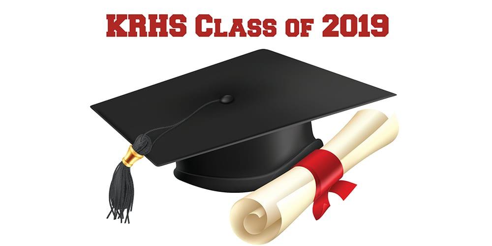 Kingsway Regional High School Graduating Class of 2019