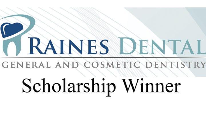Clearview Grad Wins Raines Dental $1,000 Scholarship