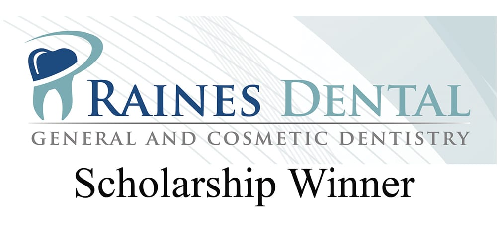 Clearview Grad Wins Raines Dental $1,000 Scholarship