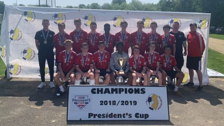 Local Soccer Players Win U16 Boys State Championship