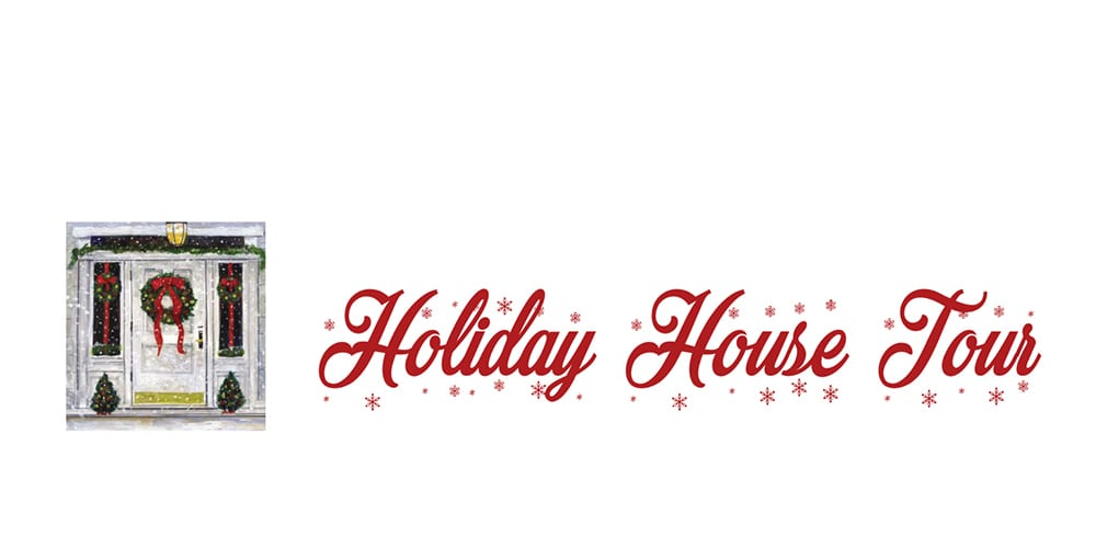Holiday House Tour in East Greenwich, Dec. 7