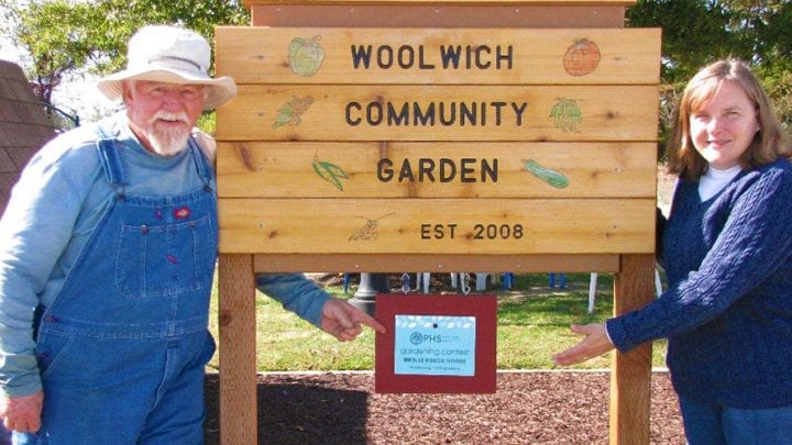 Woolwich Community Garden Wins PHS Blue Ribbon