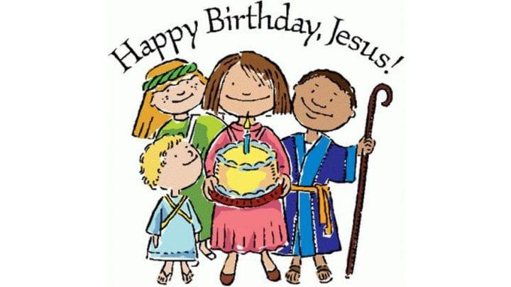 BIRTHDAY FOR JESUS, DEC. 8