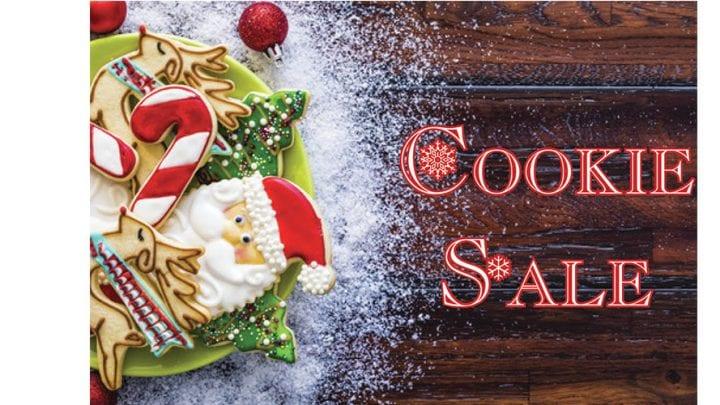 COOKIE SALE & CHRISTMAS SHOP, DEC. 7