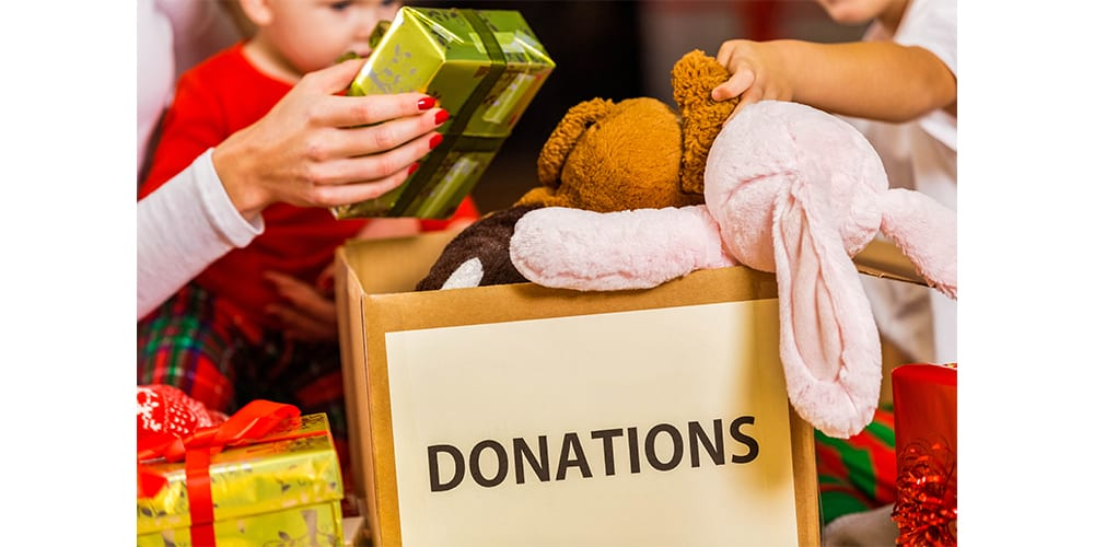 Help With Donations This Holiday Season
