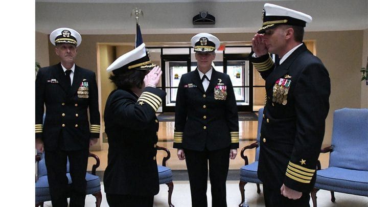 Woolwich Native takes the Helm at Navy Reserve Navy Installations Command