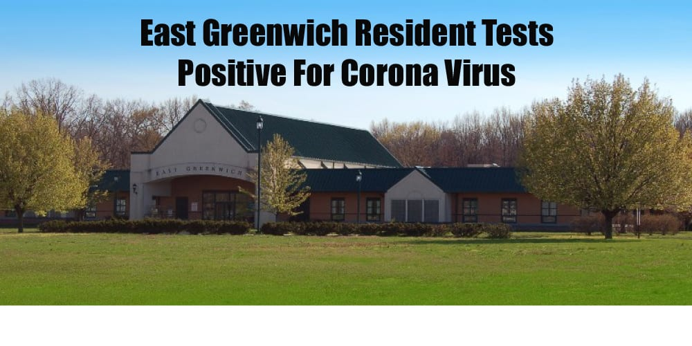 East Greenwich resident tests positive for COVID-19; Mayor calls for police to enforce Stay At Home Order