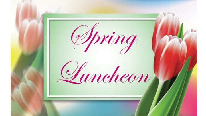 EAST GREENWICH SENIORS SPRING LUNCHEON, APRIL 23