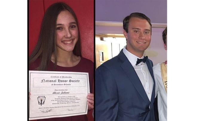 Juliano and Blanda win Hoffman DiMuzio Gift of the Heart Scholarship