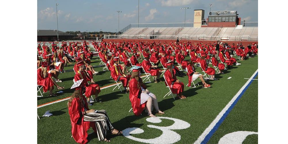 Kingsway Seniors Finally Get to Hold Graduation Ceremony